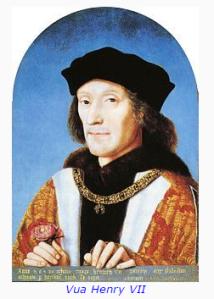 Henry VII king.